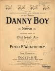 Danny Boy Original Score Cover